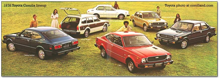 Rear Wheel Drive Toyota Corolla Cars 1966 1983
