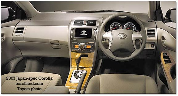 2009 toyota corolla with an optional camry engine. Black Bedroom Furniture Sets. Home Design Ideas
