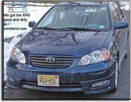 2005 Toyota Corolla Xrs >> Corolland 2005 Toyota Corolla Xrs