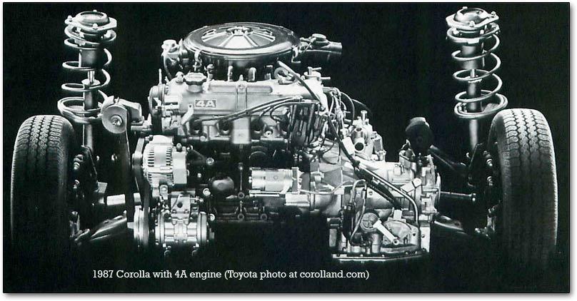 4A Toyota engine