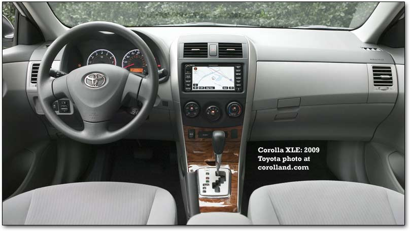 2009 Toyota Corolla - with an optional Camry engine