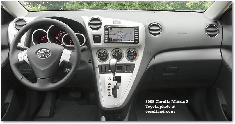 2009 matrix gauges and interior