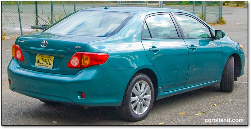 2009 corolla review